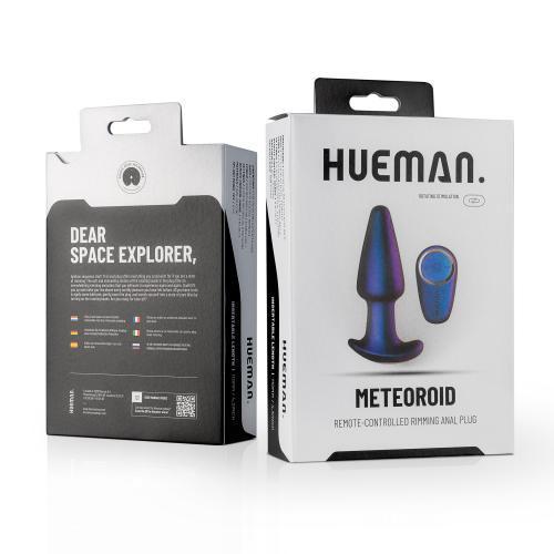 Hueman - Meteoroid Rimming Anal Plug