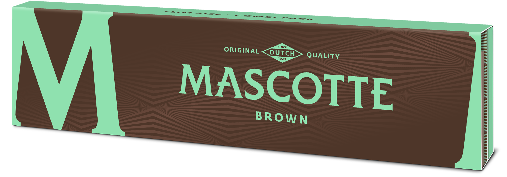 Brown combi (Slim size with magnet + tips) - Mascotte