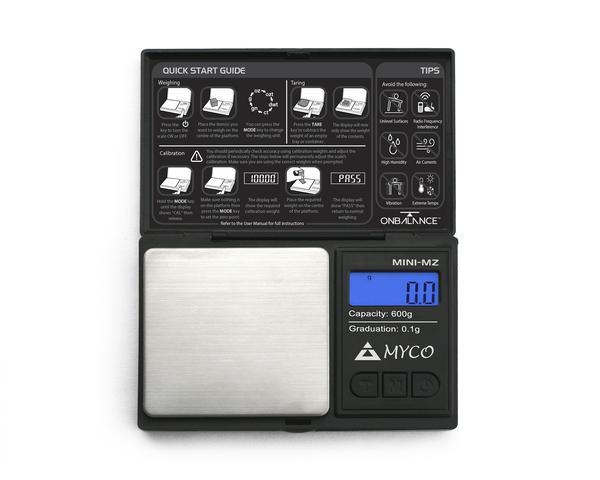 MMZ 600 Mini 600G X 0.01G - MYCO