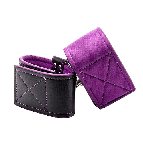 Reversible Ankle Cuffs - Purple