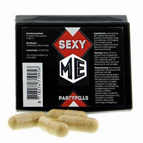 Sexy ME 4 caps - party pills