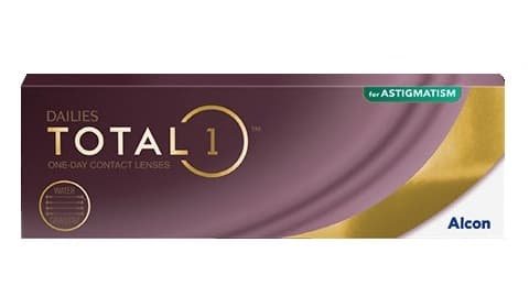 Dailies total 1 for astigmatism